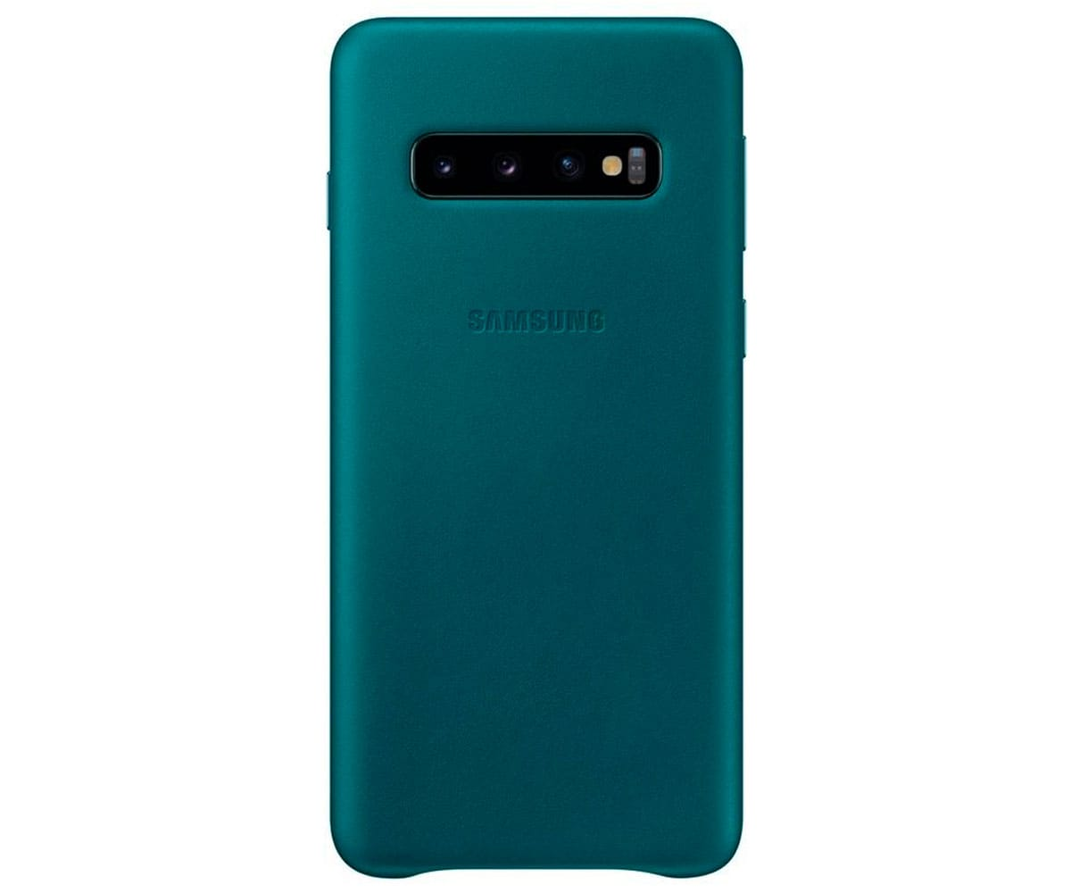 Funda leather case para el Galaxy S10 Plus S9 Plus