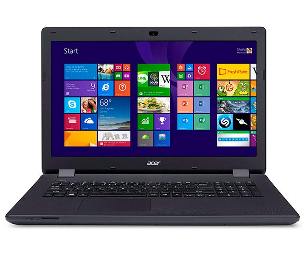 ACER ASPIRE ES1 NEGRO PORTÁTIL 17.4 HD+/CELERON 2.4GHz/1TB/4GB RAM/W10 HOME - ES1-732-COT2