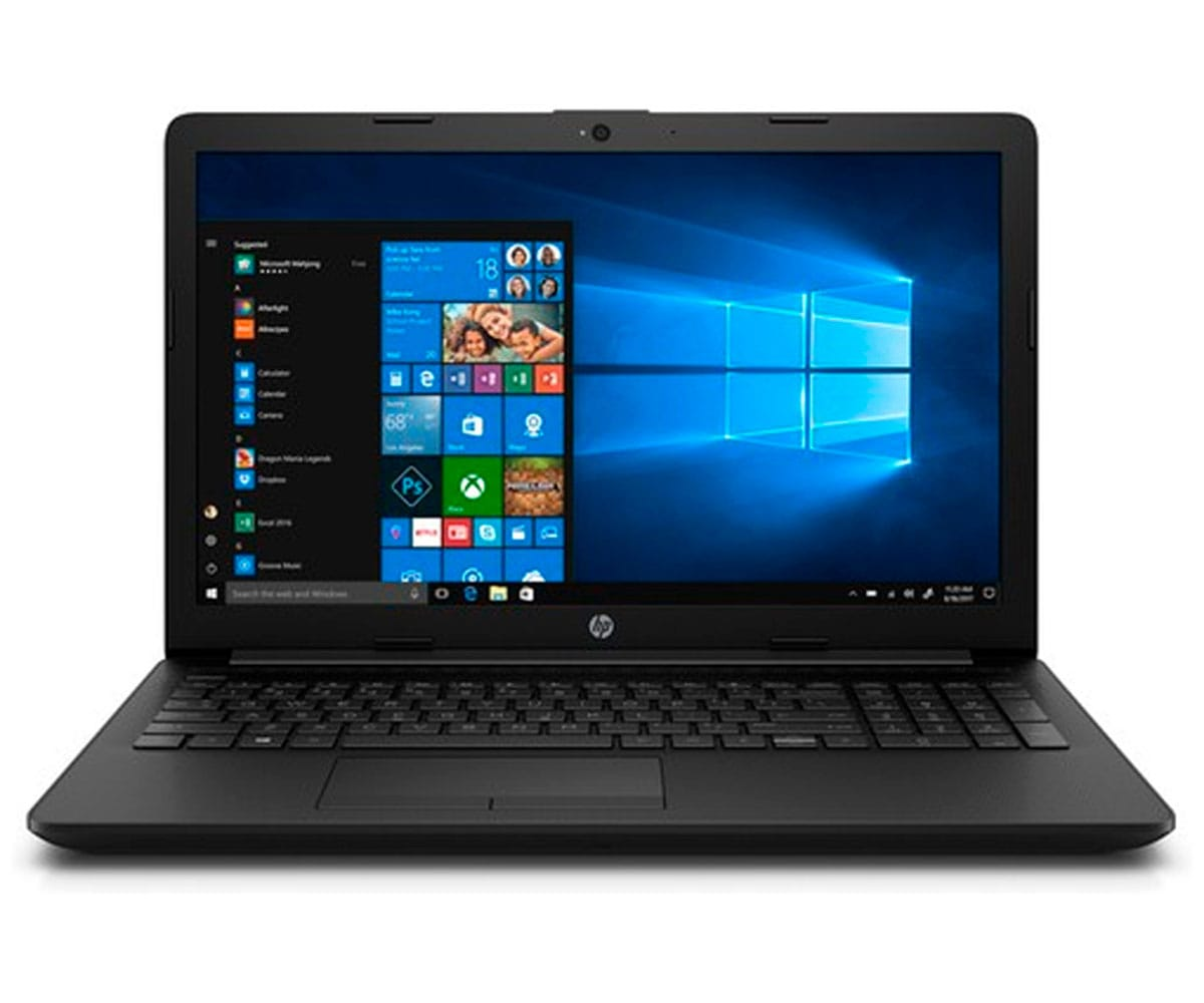 HP 15-DA0018 PORTÁTIL NEGRO 15.6 LCD WLED HD READY/i3 2.3GHz/128GB/4GB RAM/W10 HOME - 15-DA0018 BLACK