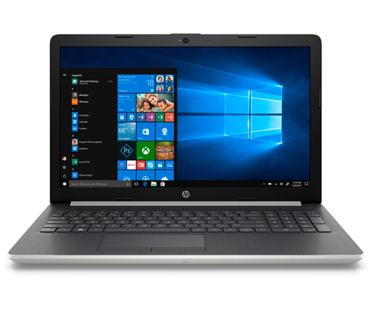HP 15-DA0125 PORTÁTIL PLATA 15.6 LCD WLED HD READY/i7 4.0GHz/1TB/8GB RAM/W10 HOME - 15-DA0125 SILVER