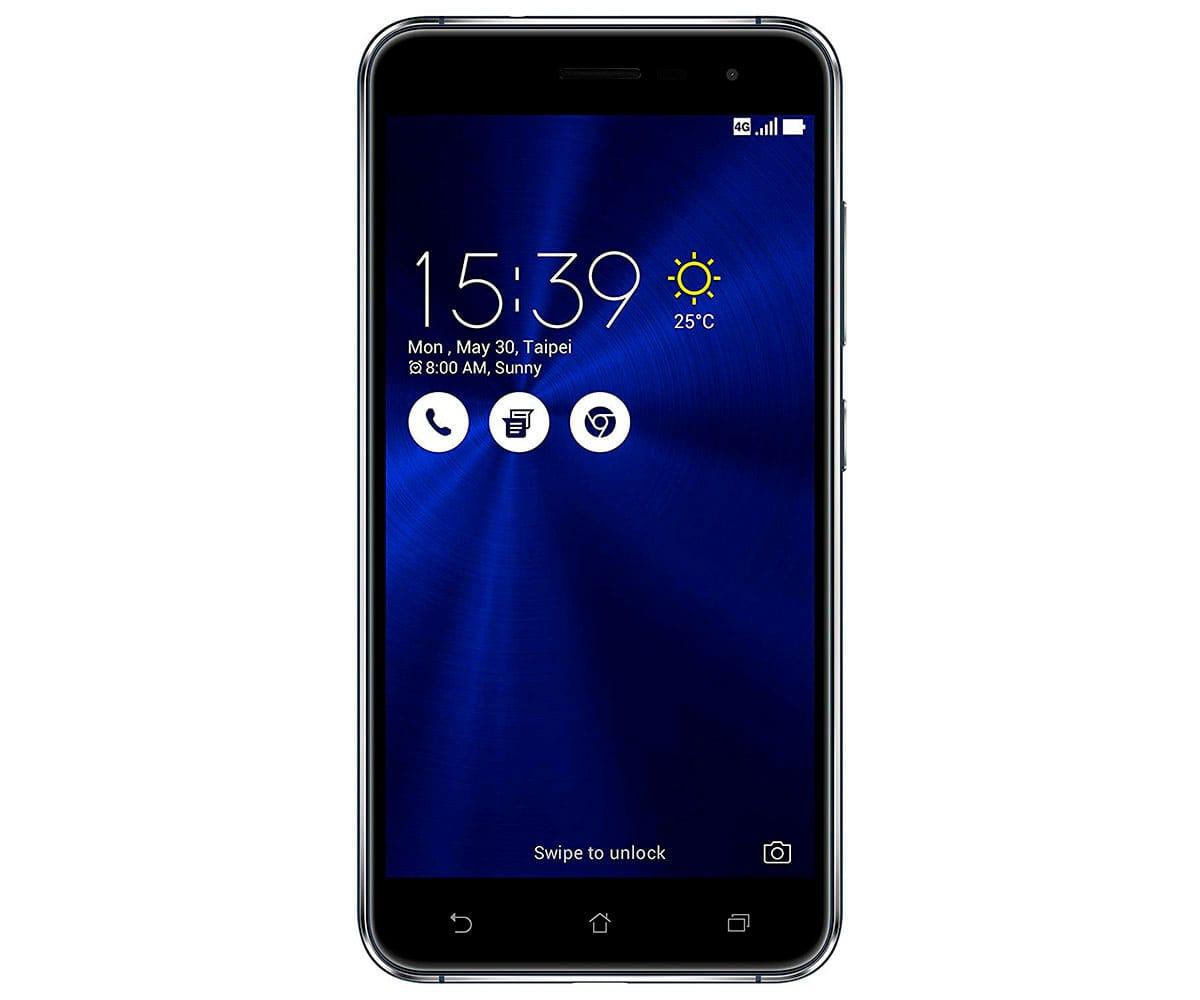 ASUS ZENFONE 3 NEGRO ZAFIRO MÓVIL 4G DUAL SIM 5.2 IPS FHD/8CORE/64GB/4GB/16MP/8MP - ZE520KL NEGRO ZAFIRO