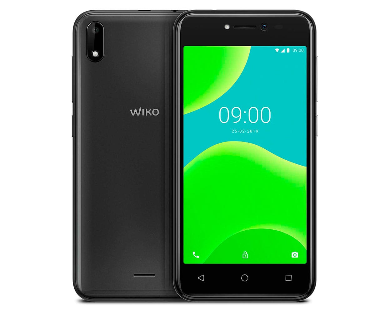 WIKO Y50 DARK GREY MÓVIL 3G DUAL SIM 5 TN FWVGA/4CORE/16GB/1GB RAM/5MP/5MP