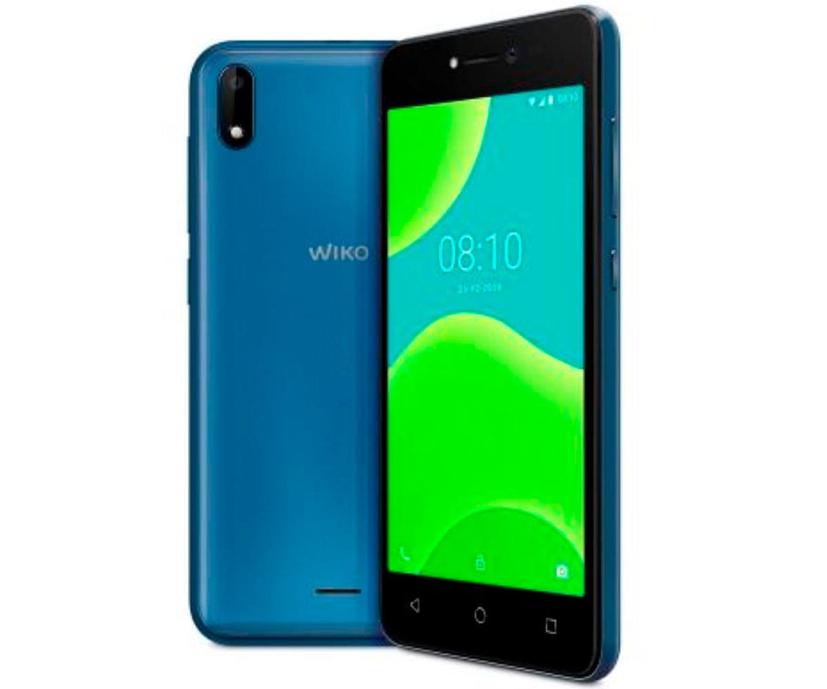 WIKO Y50 AZUL MÓVIL 3G DUAL SIM 5 TN FWVGA/4CORE/16GB/1GB RAM/5MP/5MP