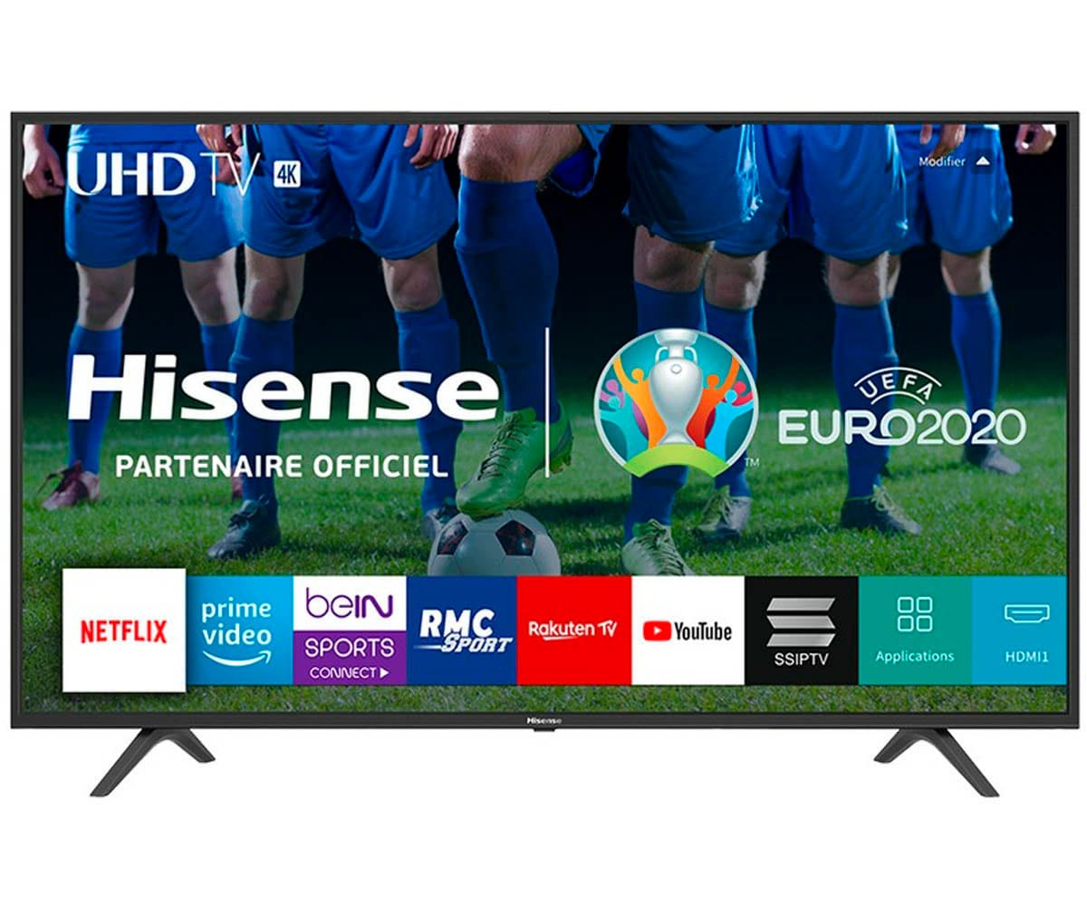 HISENSE H50B7100 TELEVISOR 50'' LCD DIRECT LED UHD 4K 1500Hz SMART TV WIFI CI+ HDMI USB REPRODUCTOR MULTIMEDIA