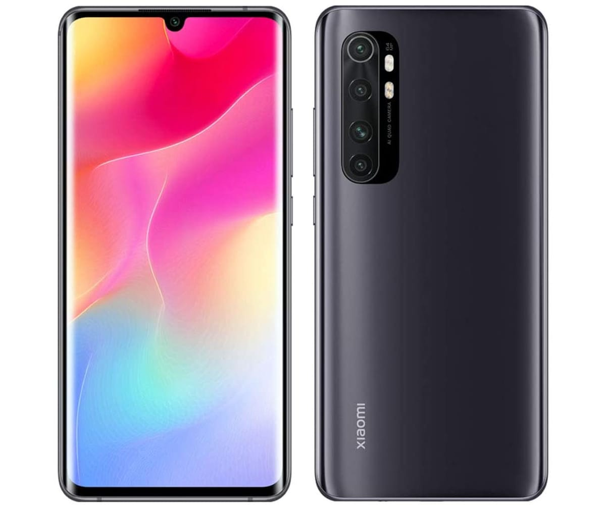 XIAOMI MI NOTE 10 LITE NEGRO MEDIANOCHE MÓVIL 4G DUAL SIM 6.47'' AMOLED 3D FHD+ OCTACORE 128GB 6GB RAM QUADCAM 64MP SELFIES 16MP