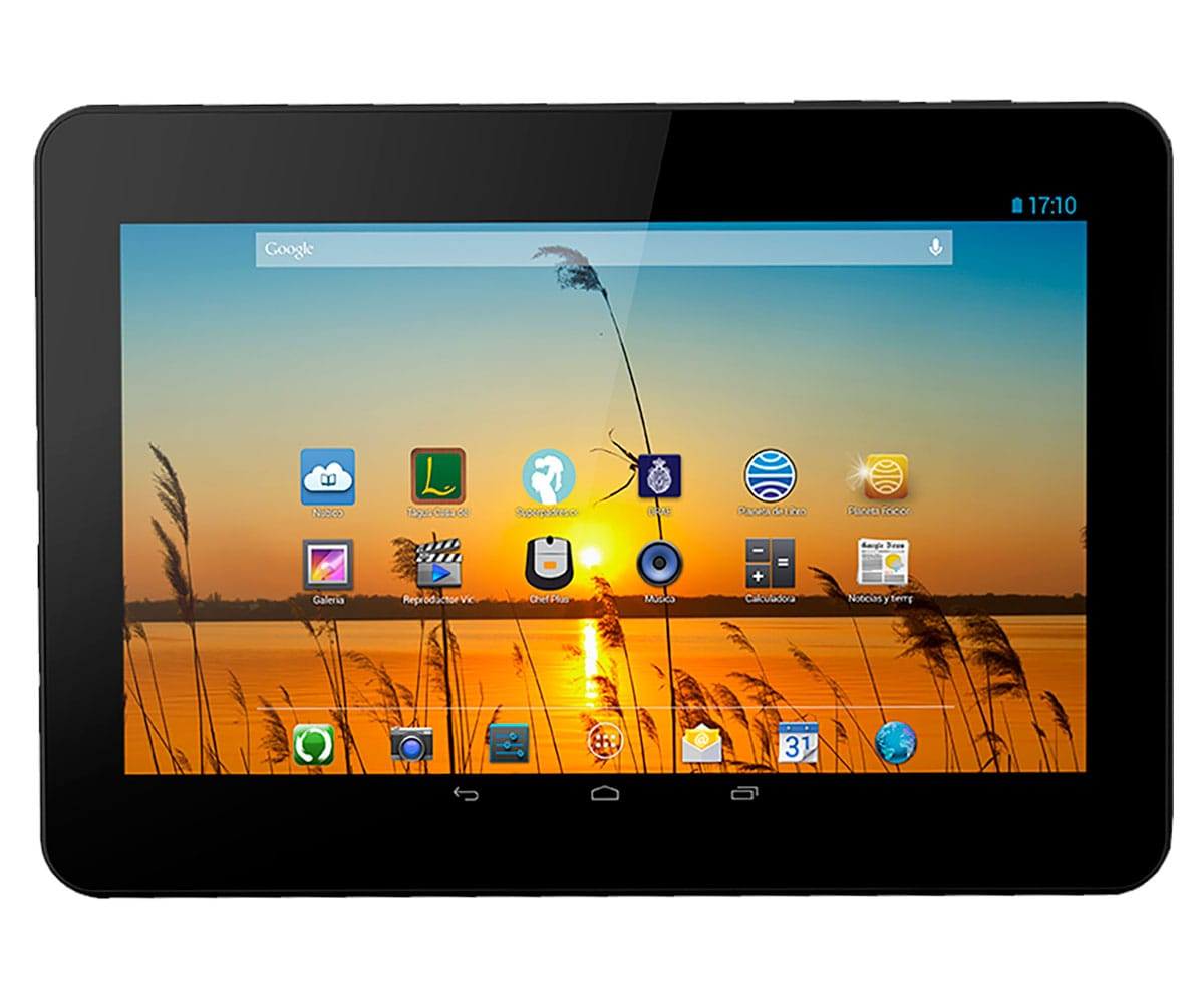 BQ LIVINGSTONE 3N HUMANIDAD TABLET WIFI 10.1'' IPS HD/4CORE/16GB/1GB RAM/5MP/2MP