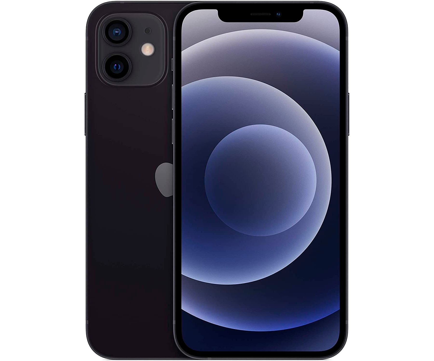 APPLE IPHONE 12 NEGRO MÓVIL DUAL SIM 5G 6.1'' OLED SUPER RETINA XDR CPU A14 BIONIC 128GB 6GB RAM DUALCAM 12MP SELFIES 12MP