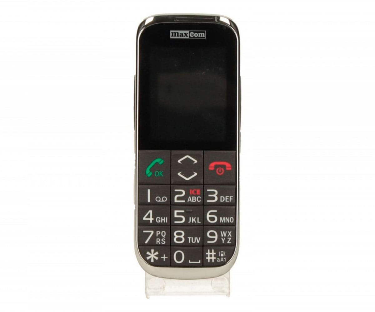 MAXCOM MM720 NEGRO MÓVIL 2.4 BLUETOOTH - MM720 NEGRO