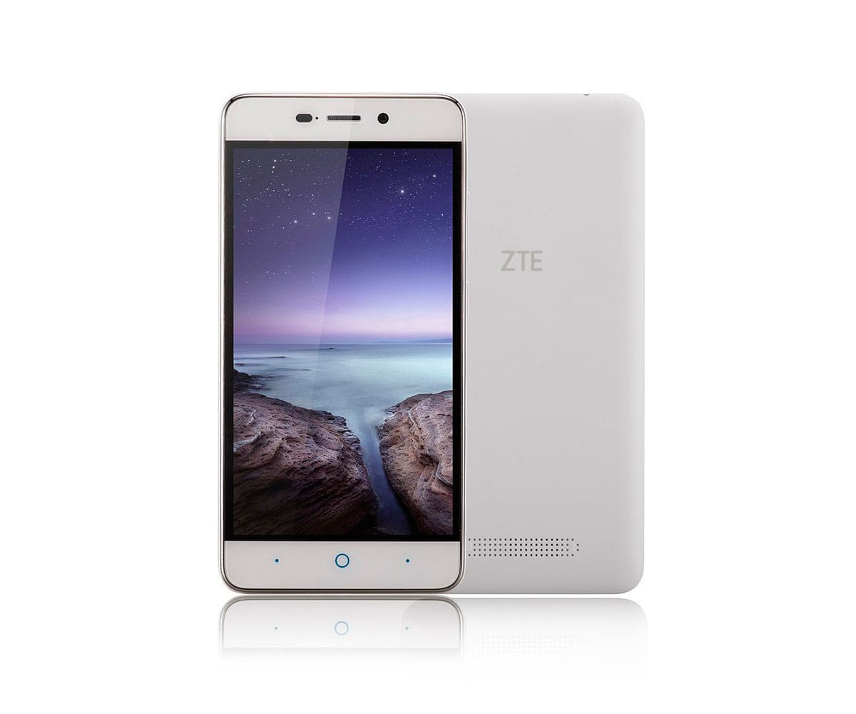 ZTE BLADE A452 BLANCO MÓVIL 4G DUAL SIM 5 IPS HD/4CORE/8GB/1GB RAM/13MP/2MP