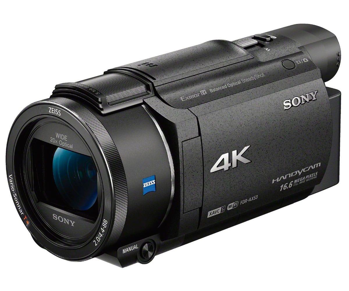 homegallery es sony fdrax53b c mara de v deo 4k ultra hd con zoom rh homegallery es manual de camara de video sony handycam dcr-sx22 manual de uso de camara de video sony handycam