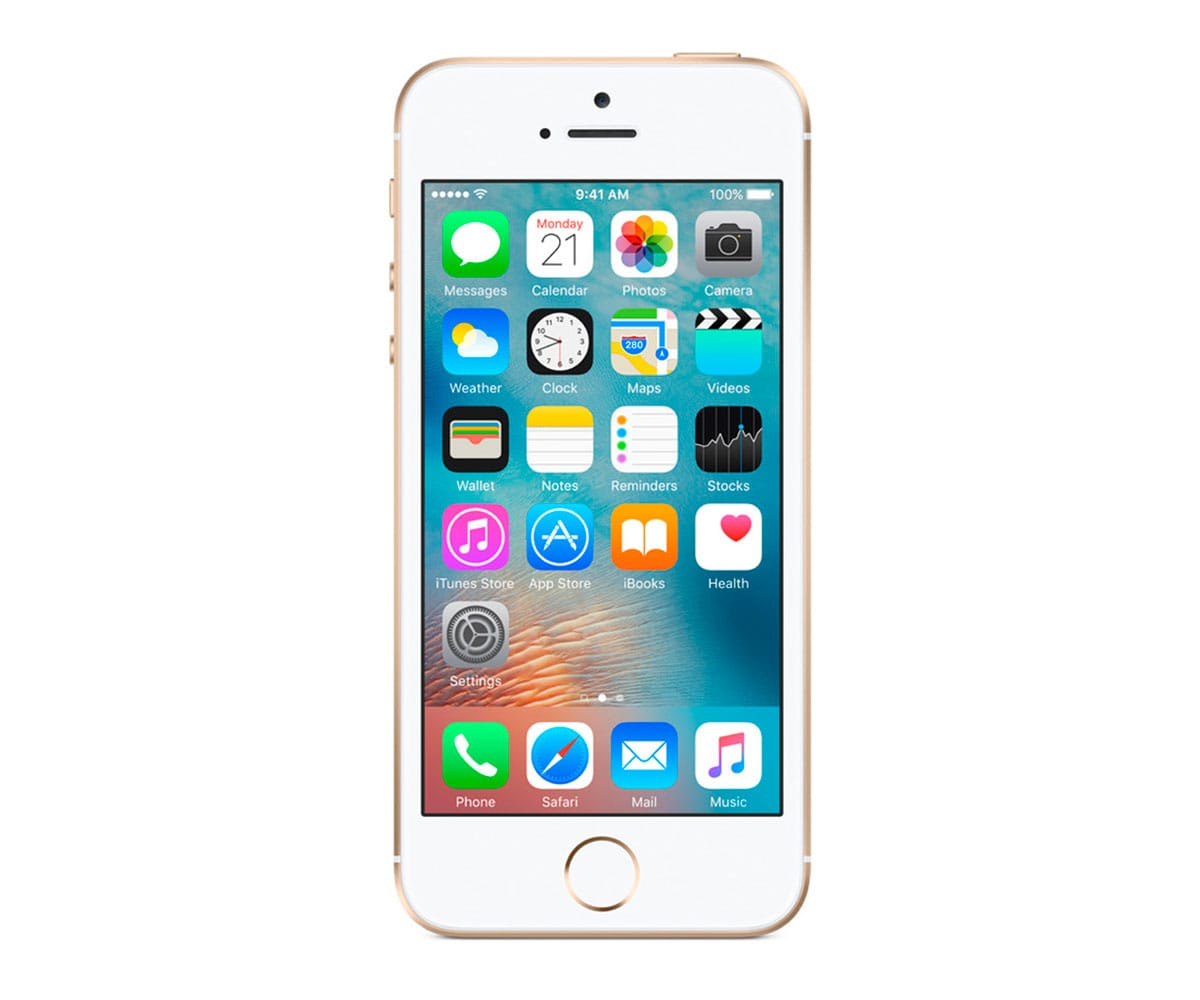 APPLE IPHONE SE 16GB DORADO MÓVIL 4G 4/2CORE/16GB/2GB RAM/12MP - IPHONE SE 16GB DORADO