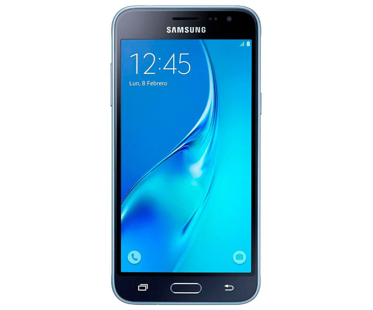 SAMSUNG GALAXY J3 NEGRO MÓVIL 4G 5'' SAMOLED HD/4CORE/8GB/1.5GB RAM/5MP/2MP
