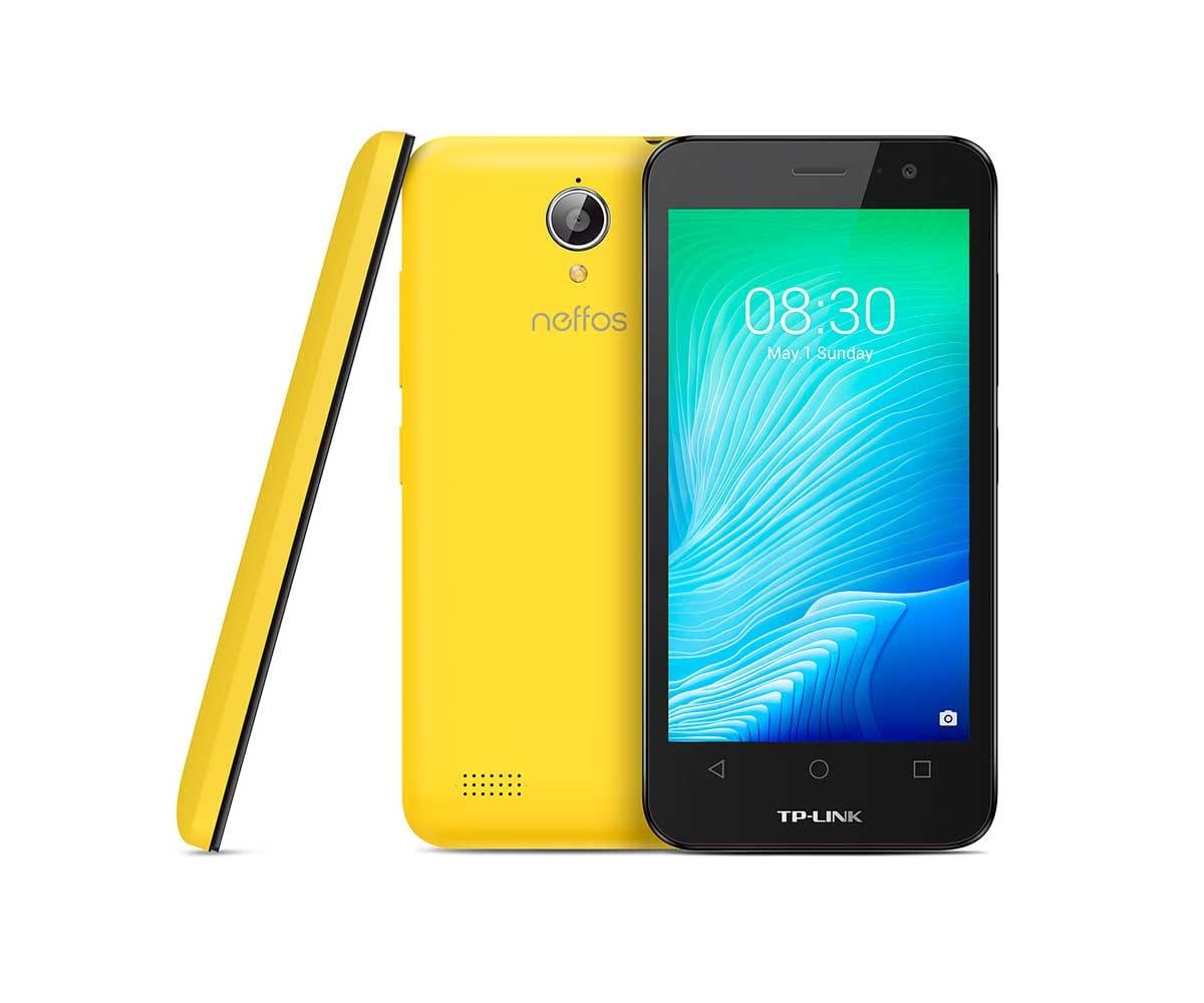 TP-LINK NEFFOS Y50 AMARILLO MÓVIL 4G DUAL SIM 4.5/4CORE/8GB/1GB RAM/5MP/2MP - NEFFOS Y50 AMARILLO