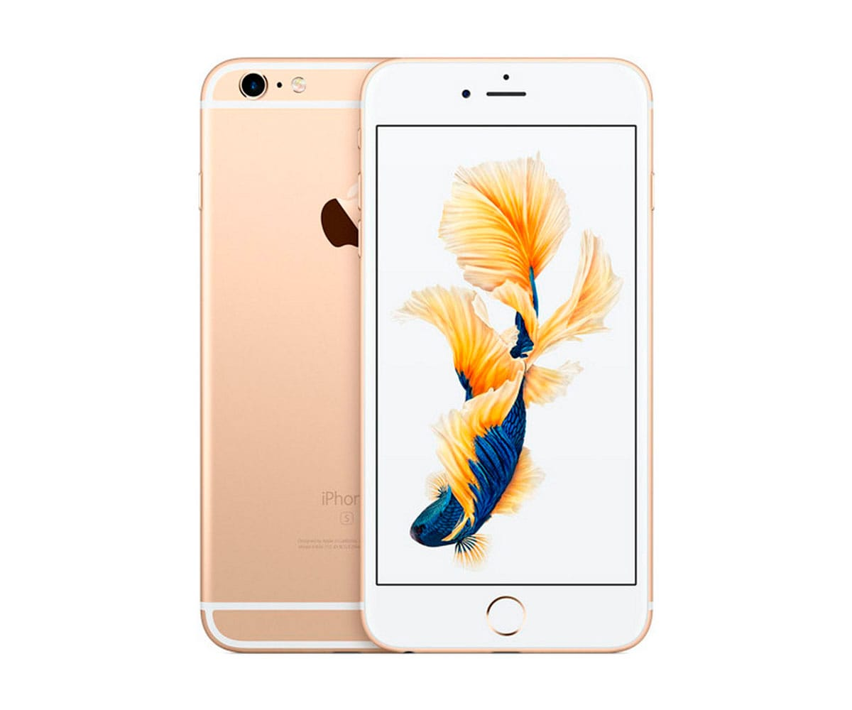APPLE IPHONE 6S 128GB ORO REACONDICIONADO CPO MÓVIL 4G 4.7 RETINA HD/2CORE/128GB/2GB RAM/12MP/5MP