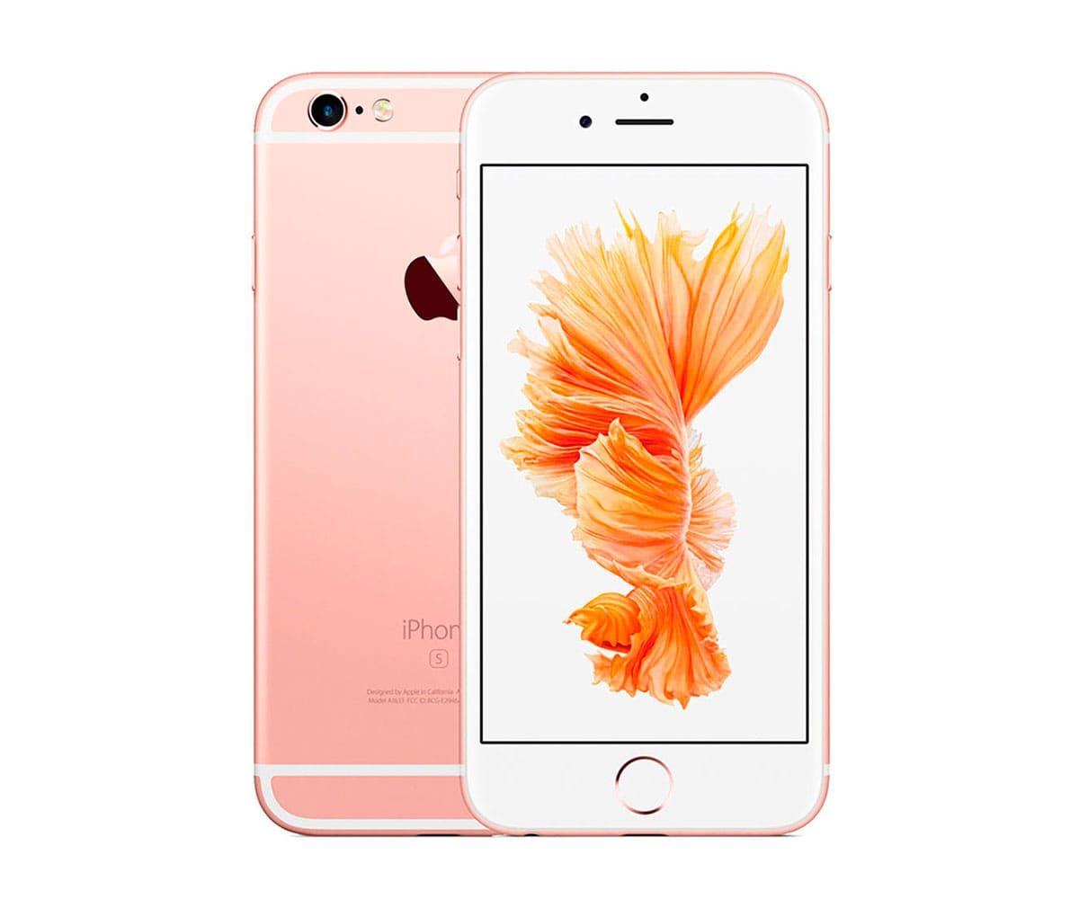 APPLE IPHONE 6S 128GB ORO ROSA REACONDICIONADO CPO MÓVIL 4G 4.7 RETINA HD/2CORE/128GB/2GB RAM/12MP