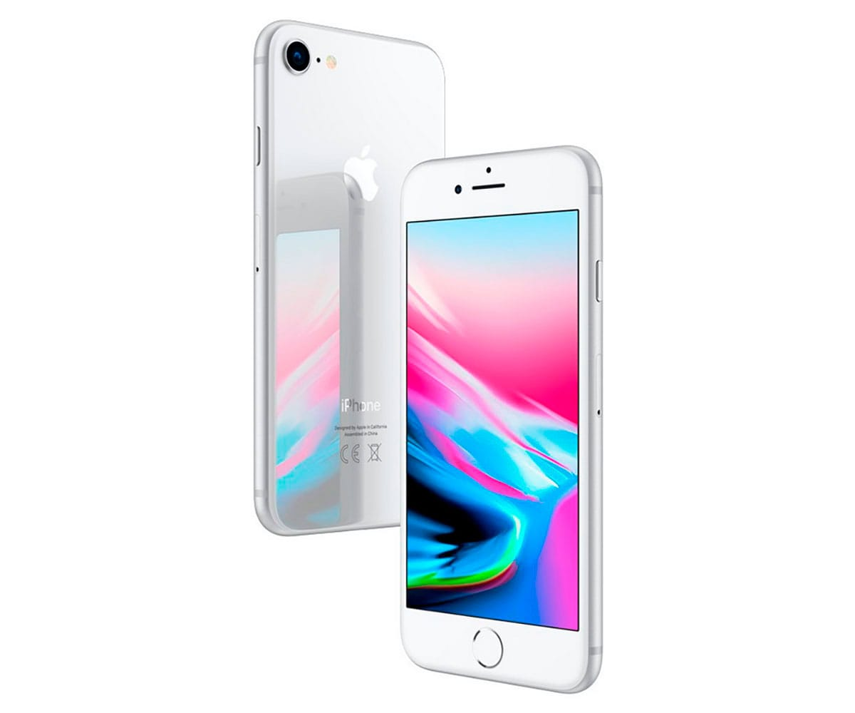 APPLE IPHONE 8 64GB PLATA REACONDICIONADO CPO MÓVIL 4G 4.7'' RETINA HD/6CORE/64GB/2GB RAM/12MP/7MP