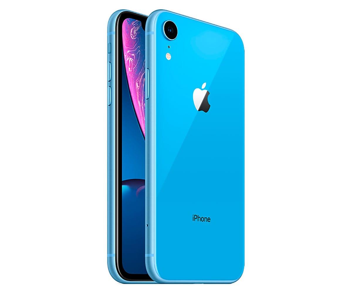 APPLE IPHONE XR 64GB AZUL MÓVIL 4G 6.1 LIQUID RETINA HD LED HDR/6CORE/64GB/3GB RAM/12MP/7MP - IPHONE XR 64GB AZUL