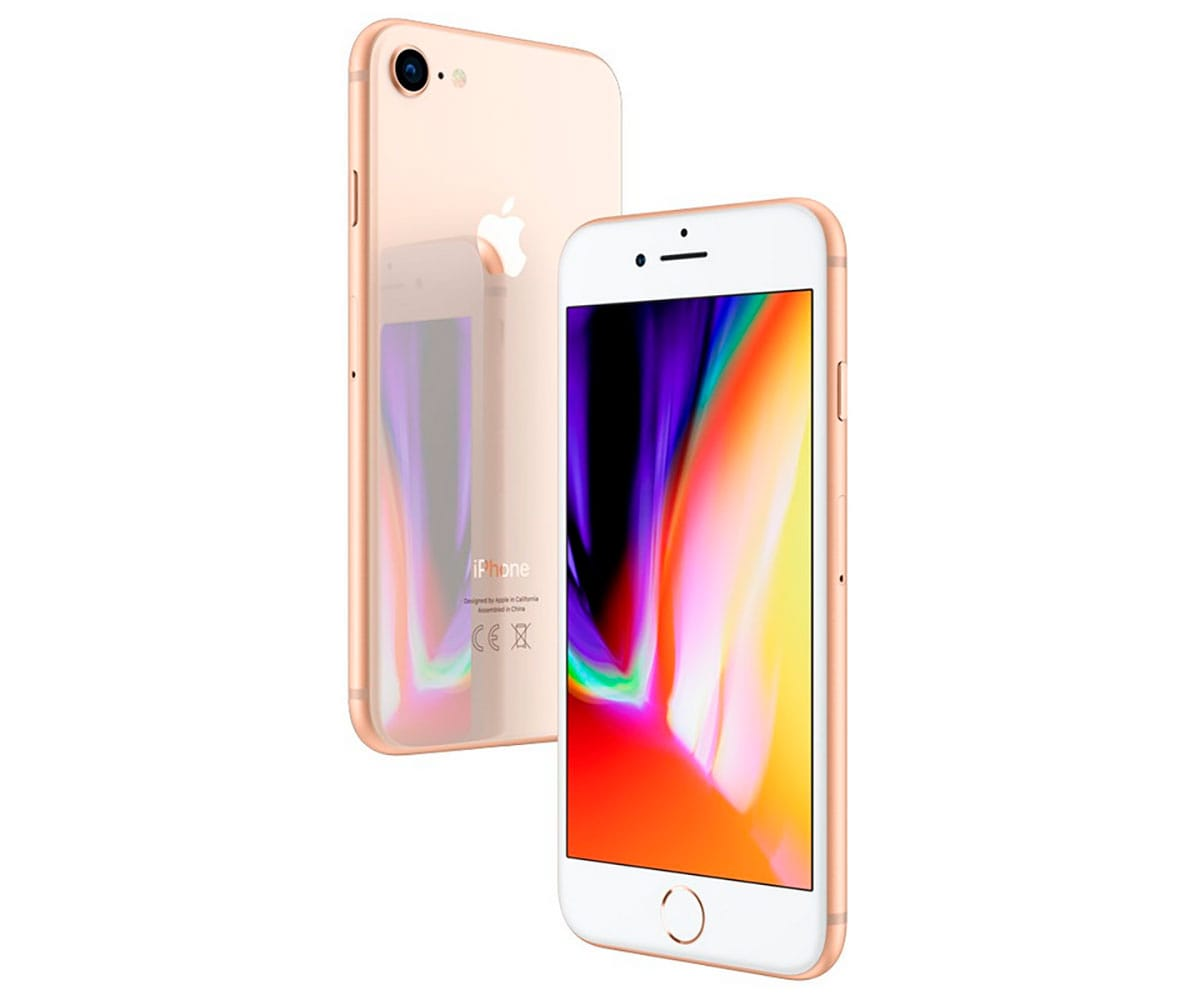 APPLE IPHONE 8 64GB DORADO MÓVIL 4G 4.7 RETINA HD/6CORE/64GB/2GB RAM/12MP/7MP - IPHONE 8 64GB DORADO