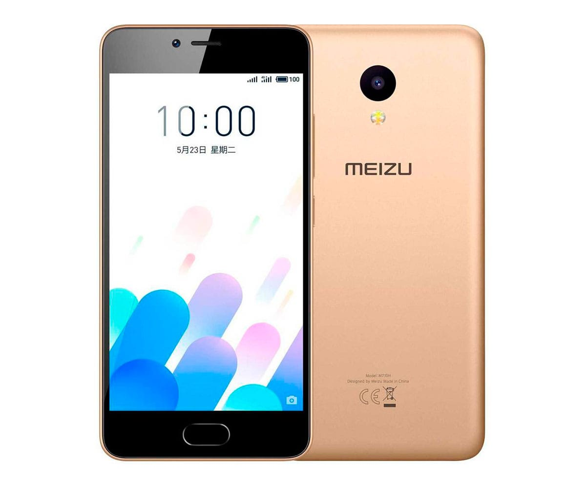 MEIZU M5C DORADO MÓVIL 4G DUAL SIM 5 IPS HD/4CORE/16GB/2GB RAM/8MP/5MP - M5C DORADO (2+16GB)