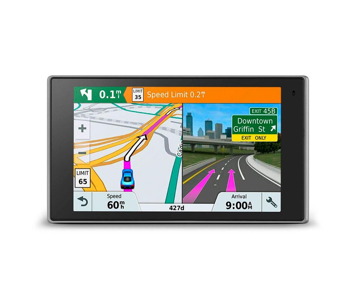 GARMIN DRIVELUX 51 EUROPA LMT-S NAVEGADOR GPS CON PANTALLA TÁCTIL DE 5  MAPAS DE POR VIDA DEL DE E -