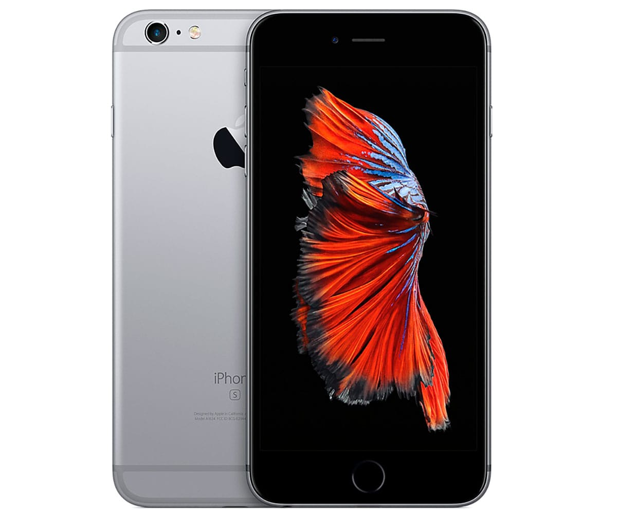 APPLE IPHONE 6S PLUS 32GB GRIS ESPACIAL MÓVIL 4G 5.5 RETINA FHD/2CORE/32GB/2GB RAM/12MP/5MP -