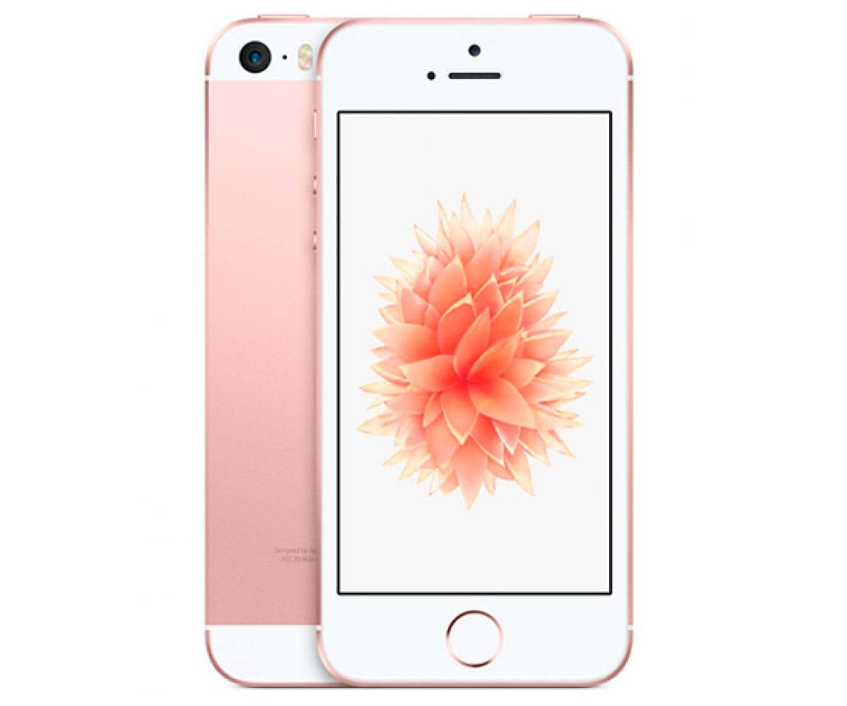 APPLE IPHONE SE 32GB ORO ROSA MÓVIL 4G 4 RETINA/2CORE/32GB/2GB RAM/12MP/1.2MP -