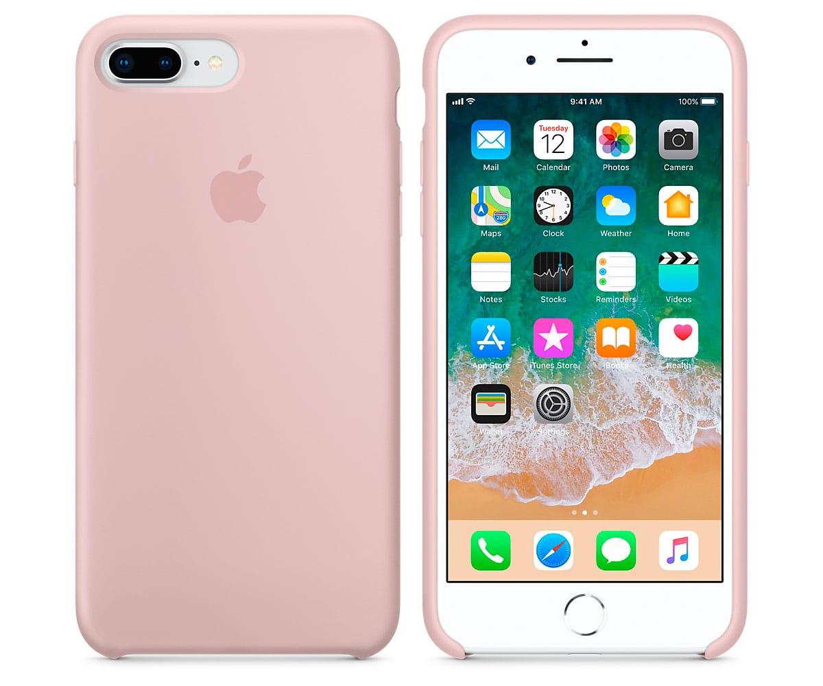 carcasas silicona iphone 8