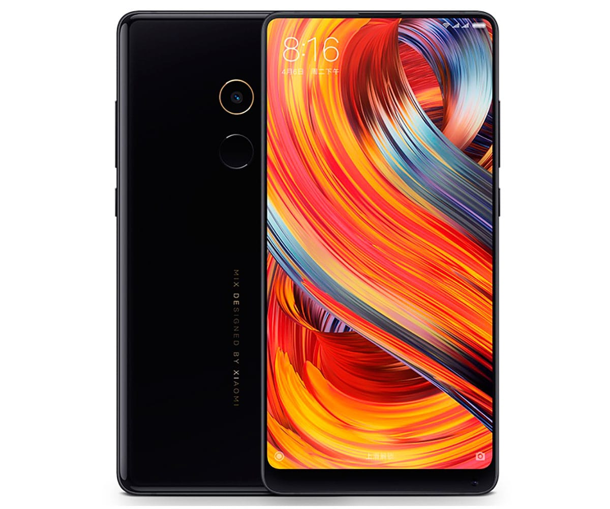 XIAOMI MI MIX2 MÓVIL 4G DUAL SIM 5.99 IPS FHD+/8CORE/64GB/6GB RAM/12MP/5MP -