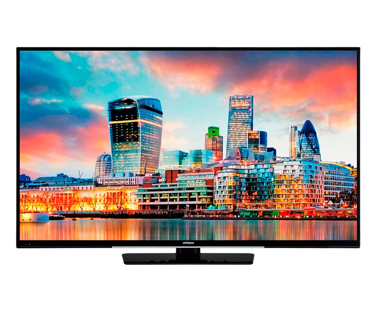 HITACHI 43HK4W64 TELEVISOR 43'' LCD DIRECT LED UHD 4K 1200Hz SMART TV WIFI BLUETOOTH LAN HDMI USB REPRODUCTOR MULTIMEDIA