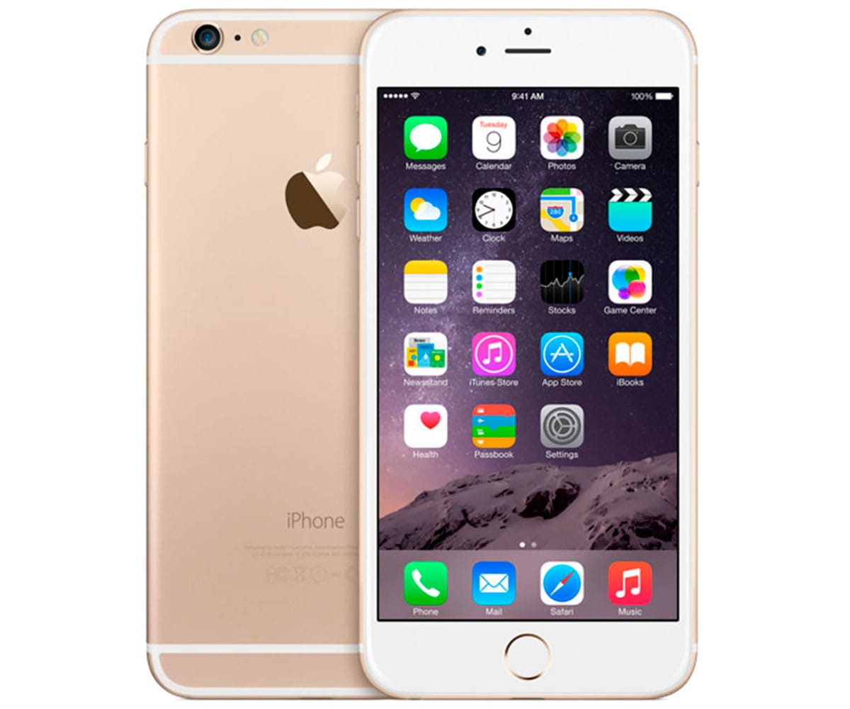 APPLE IPHONE 6 PLUS 64GB DORADO REACONDICIONADO CPO MÓVIL 4G 5.5 RETINA FHD/2CORE/64GB/1GB RAM/8MP