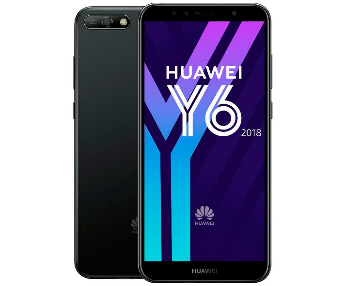 HUAWEI Y6 (2018) NEGRO MÓVIL 4G DUAL SIM 5.7'' IPS HD+/4CORE/16GB/2GB RAM/13MP/5MP