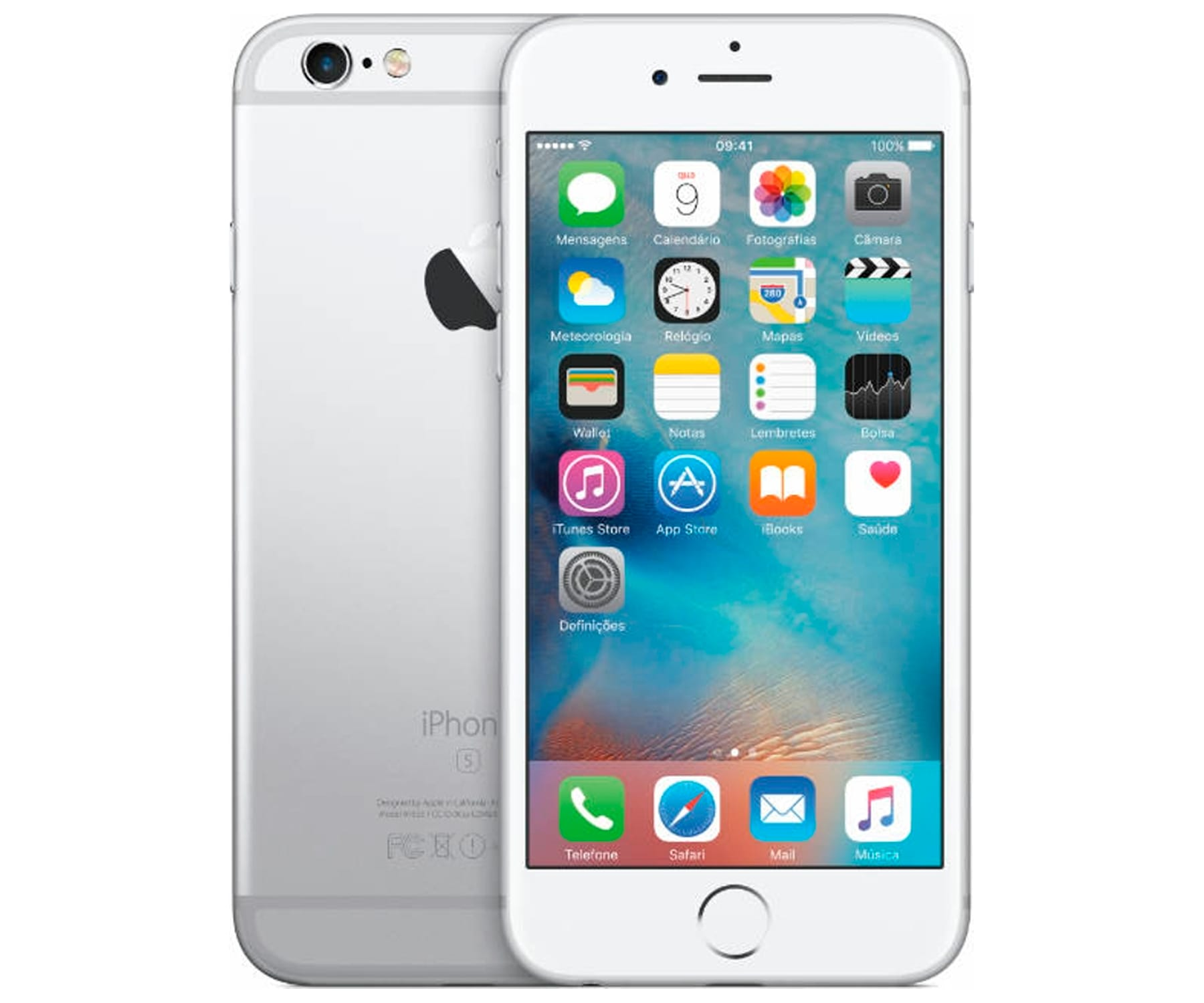 APPLE IPHONE 6S 64GB PLATA REACONDICIONADO CPO MÓVIL 4G 4.7 RETINA HD/2CORE/64GB/2GB RAM/12MP/5MP