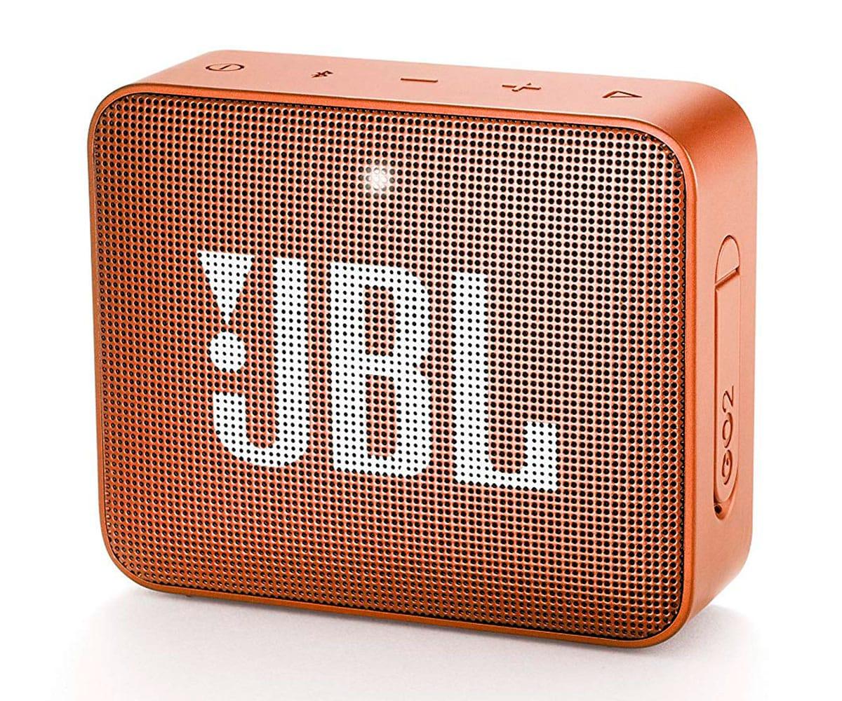 JBL GO2 NARANJA ALTAVOZ INALÁMBRICO PORTÁTIL 3W RMS BLUETOOTH AUX MICRÓFONO MANOS LIBRES IMPERMEABLE - GO2 NARANJA