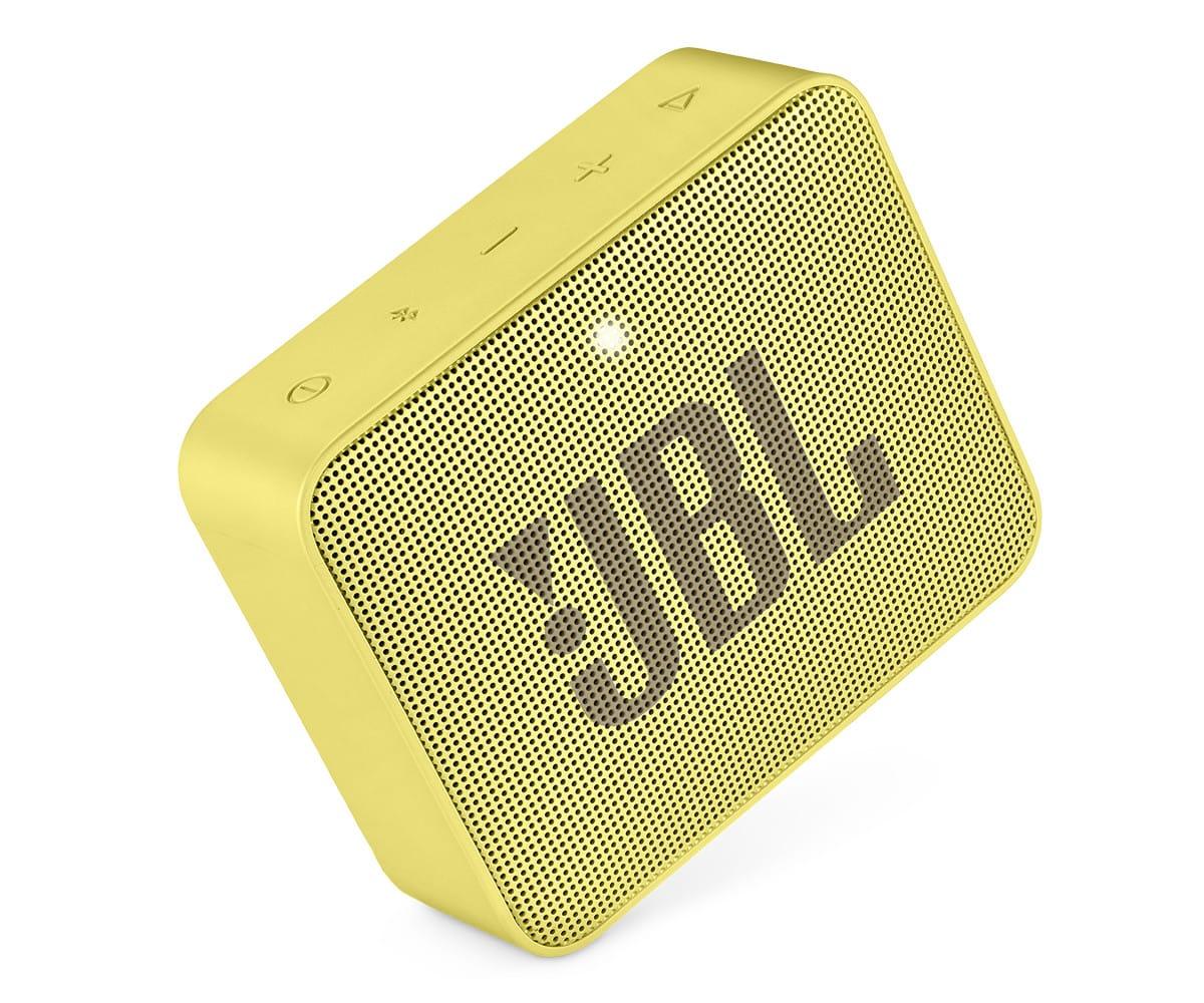 JBL GO2 AMARILLO ALTAVOZ INALÁMBRICO PORTÁTIL 3W RMS BLUETOOTH AUX MICRÓFONO MANOS LIBRES IMPERMEABL - GO2 AMARILLO