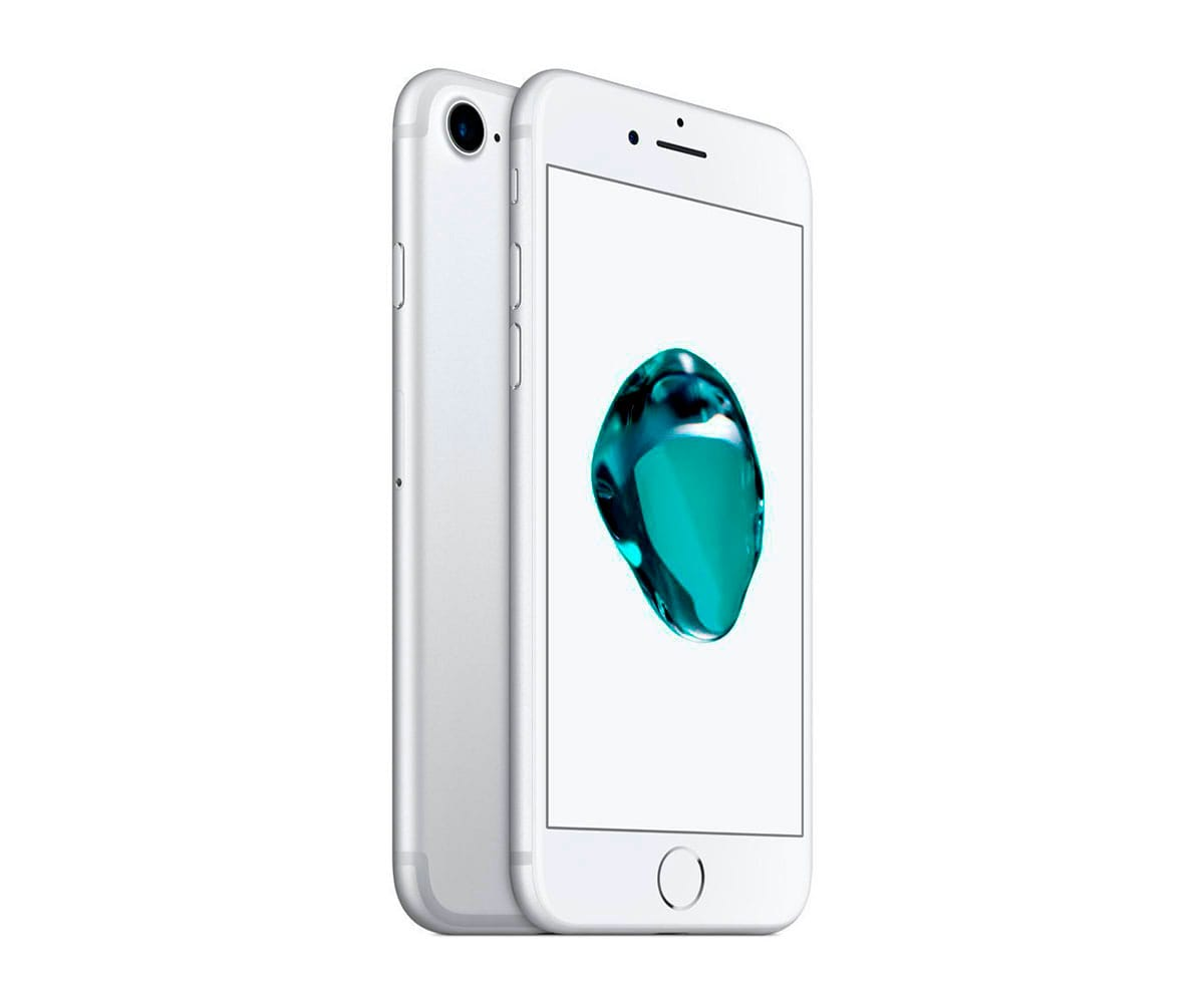 APPLE IPHONE 7 128GB PLATA REACONDICIONADO CPO MÓVIL 4G 4.7'' RETINA HD/4CORE/128GB/2GB RAM/12MP/7MP