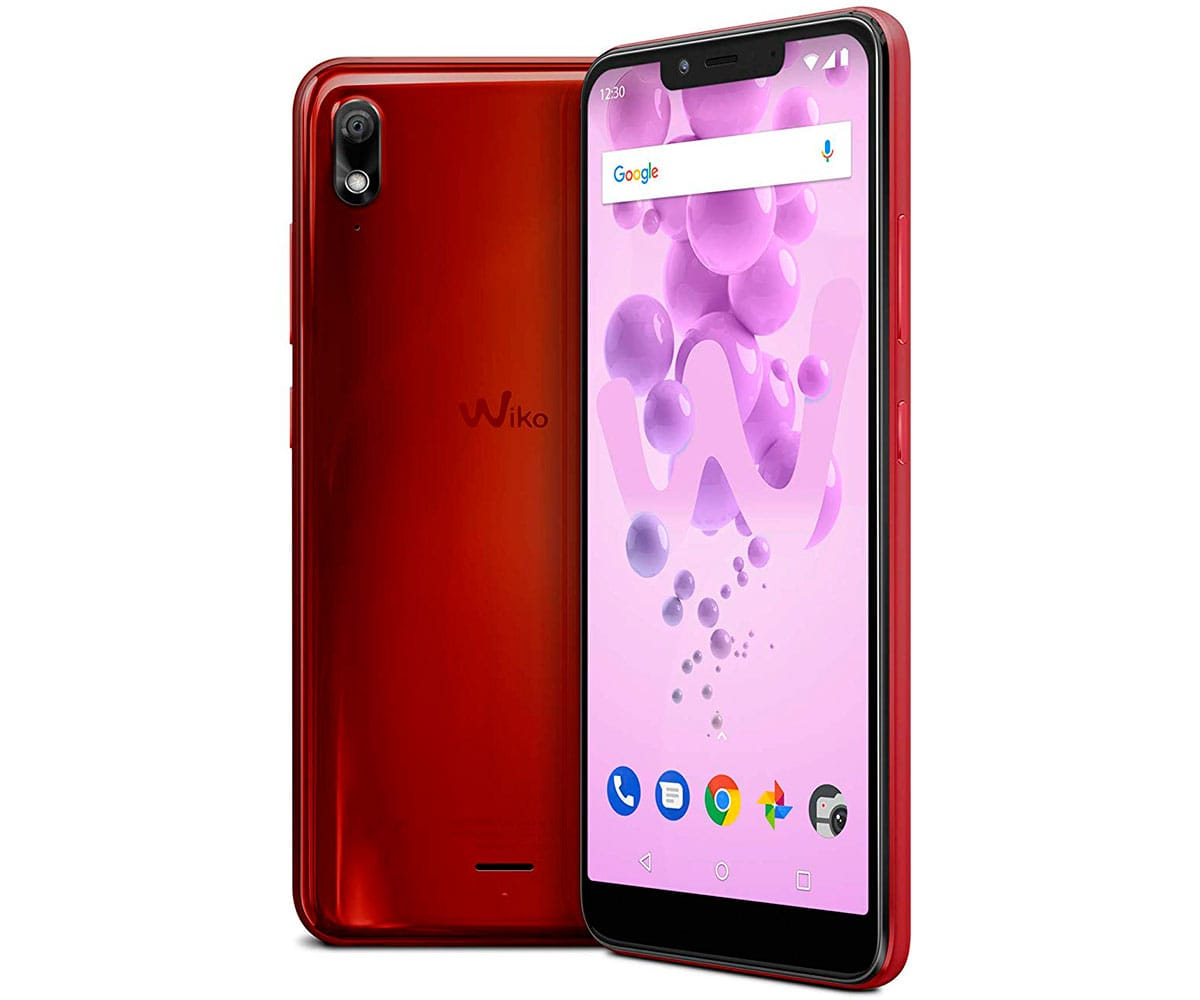 WIKO VIEW2 GO ROJO CEREZA MÓVIL 4G DUAL SIM 5.93 IPS HD+/8CORE/16GB/2GB RAM/12MP/5MP