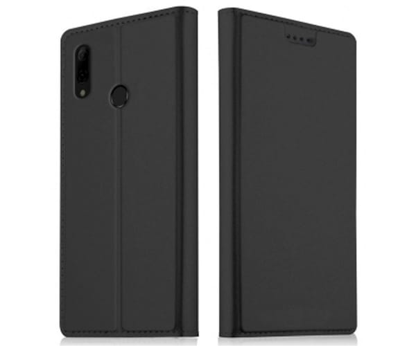 AKASHI FUNDA FOLIO NEGRA HUAWEI P SMART 2019 Y HONOR 10 LITE