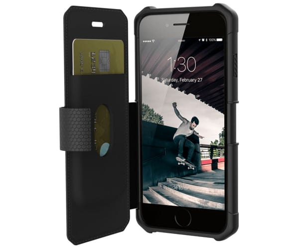 UAG FUNDA METRÓPOLIS NEGRO APPLE IPHONE 8 / 7 / 6 / 6S RESISTENTE