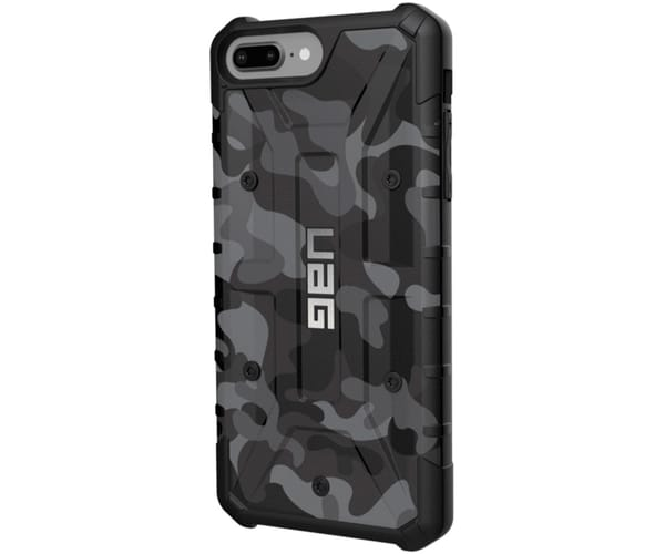 UAG PATHFINDER MIDNIGHT CARCASA IPHONE 8 PLUS/7 PLUS/6S PLUS RESISTENTE