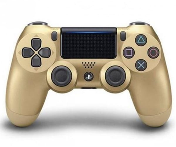 SONY DUALSHOCK 4 VERSION 2 DORADO MANDO INALÁMBRICO PARA PS4