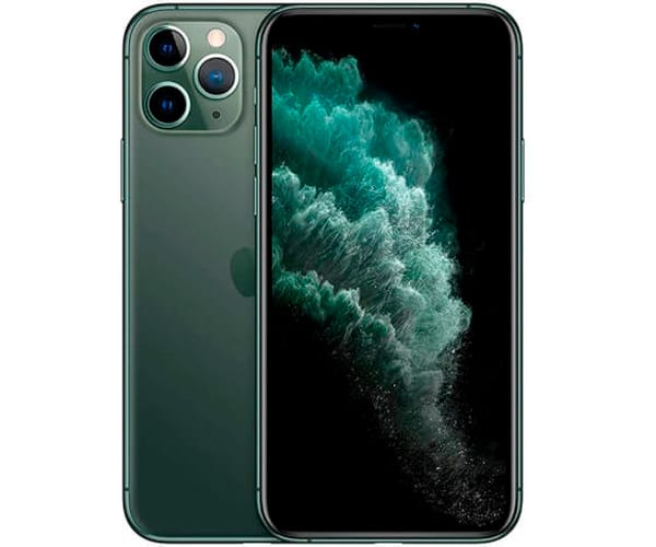APPLE IPHONE 11 PRO VERDE MEDIANOCHE MÓVIL DUAL SIM 4G 5.8'' SUPER RETINA XDR CPU A13/256GB/4GB RAM/12+12+12MP/12MP