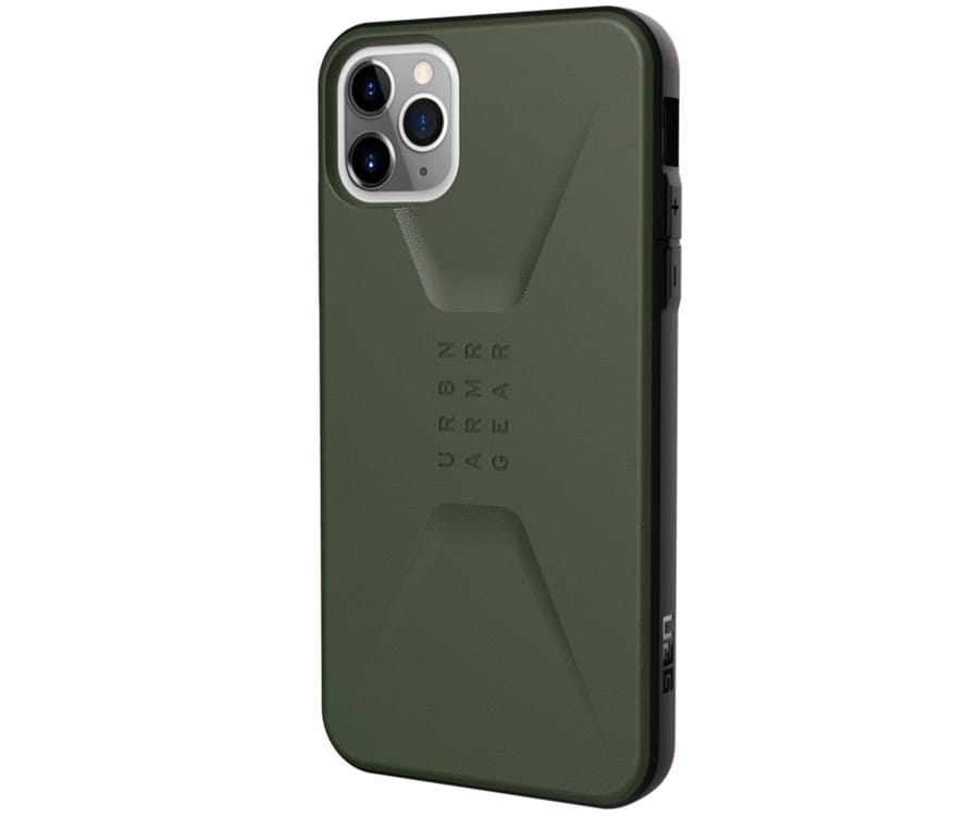 UAG CIVILIAN VERDE OLIVA CARCASA APPLE IPHONE 11 PRO MAX RESISTENTE