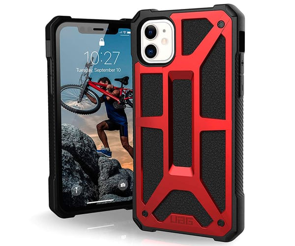 UAG MONARCH CRIMSON CARCASA APPLE IPHONE 11