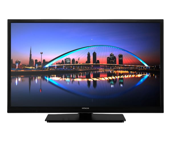 HITACHI 24HE1100 TELEVISOR 24'' LCD LED HD READY HDMI USB GRABADOR Y REPRODUCTOR MULTIMEDIA