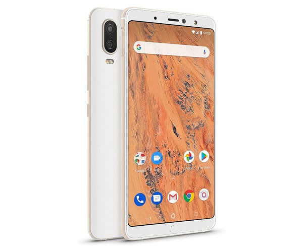 BQ AQUARIS X2 PRO BLANCO MÓVIL 4G 5.65'' IPS FHD+/8CORE/64GB/4GB RAM/12MP/8MP