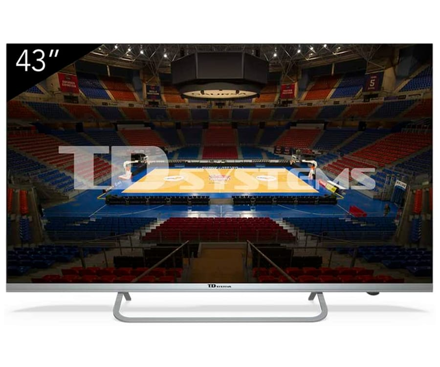 TD SYSTEMS K43DLX11US TELEVISOR 43'' LCD DIRECT LED 4K HDMI USB CI+ DOLBY DIGITAL PLUS