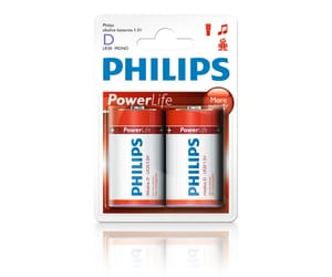 PHILIPS PILAS 1.5V - LR20