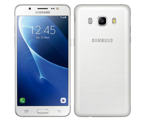 SAMSUNG GALAXY J5 (2016) BLANCO SM-J510 MÓVIL 5.2'' / 4G / 4CORE / 16GB / 2GB RAM / 13MP / 5MP