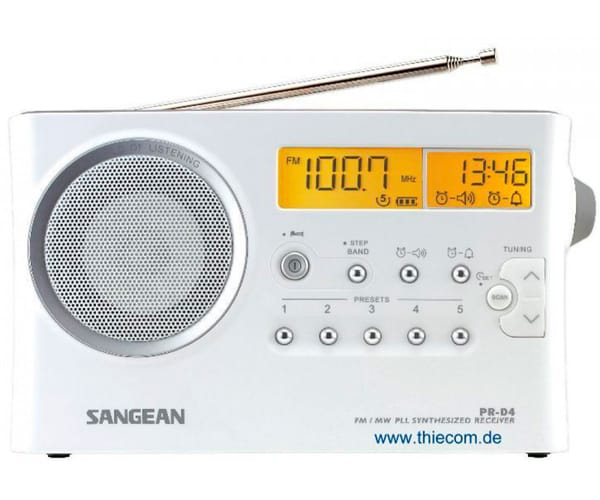 SANGEAN PR-D4 RADIO DIGITAL DE BOLSILLO