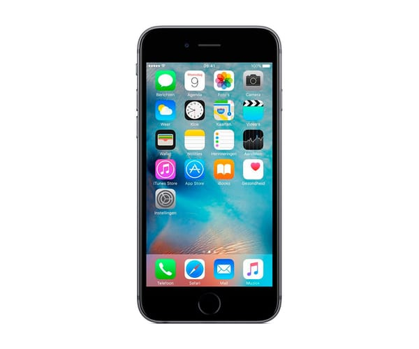 APPLE IPHONE 6S 32GB GRIS ESPACIAL MÓVIL 4G 4.7'' IPS/2CORE/32GB/2GB RAM/12MP/5MP